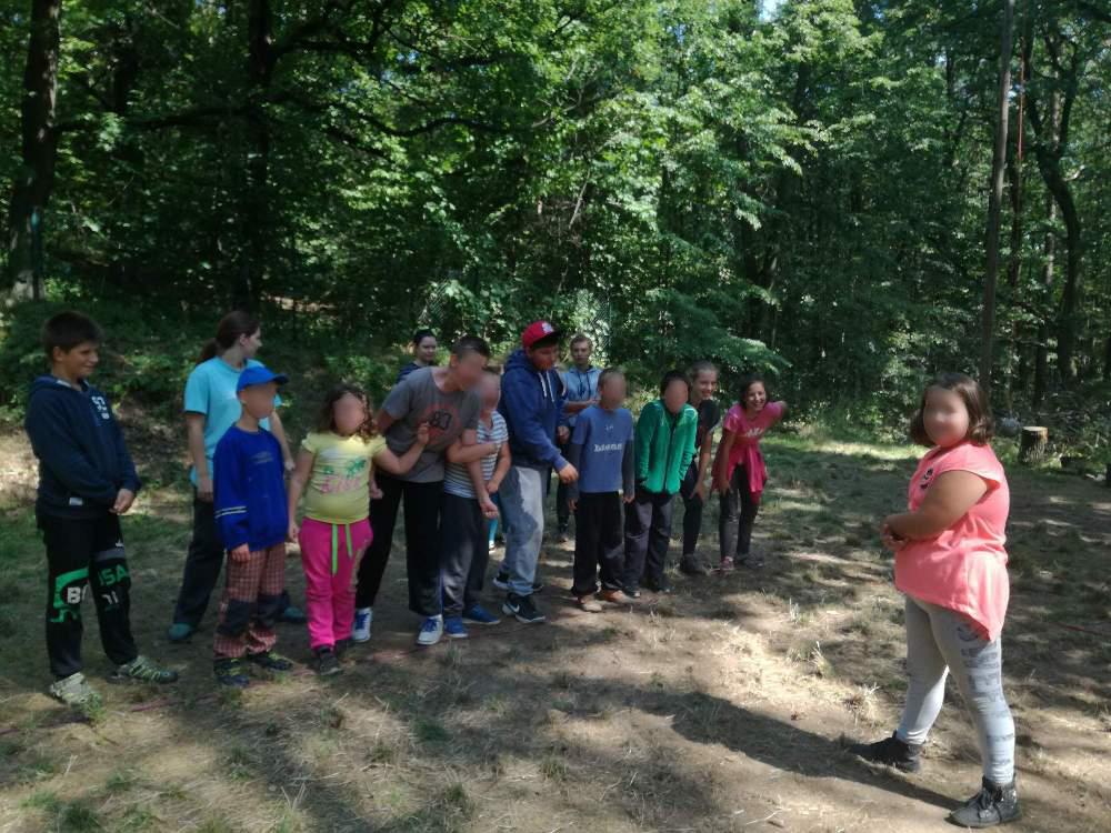 Letní tábor pro menší děti 2017